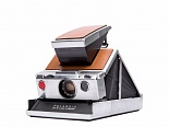 POLAROID ORIGINALS SX-70 Camera Silver/Brown